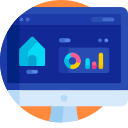 home and business automation icon